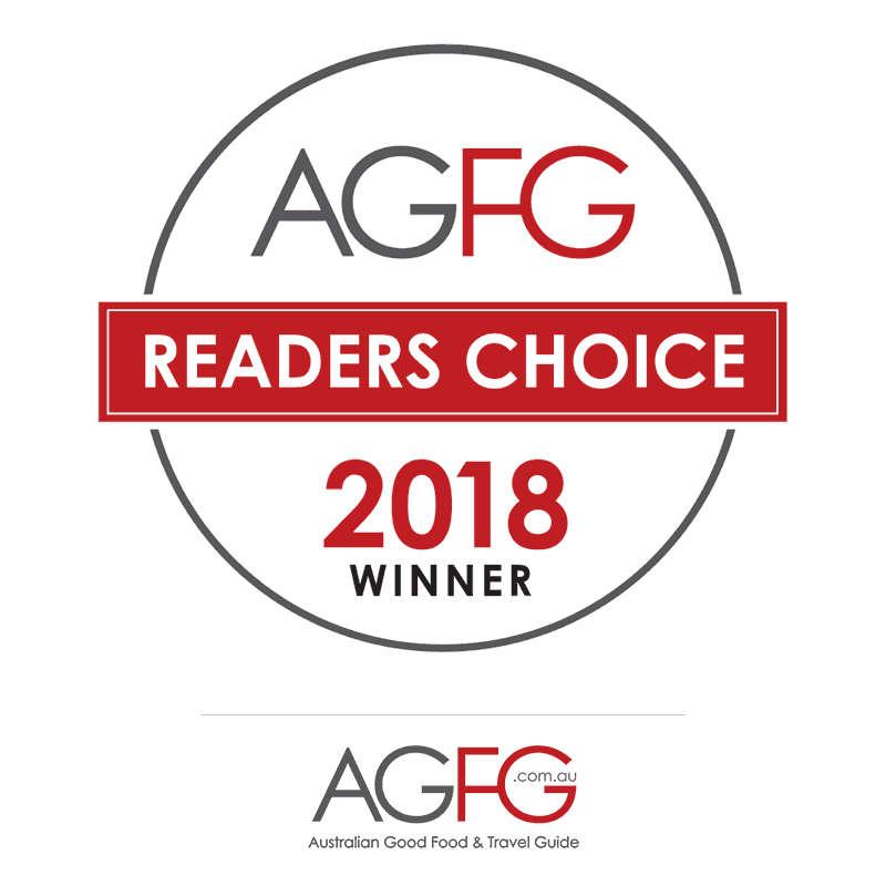 2018 Readers Choice Winner - AGFG