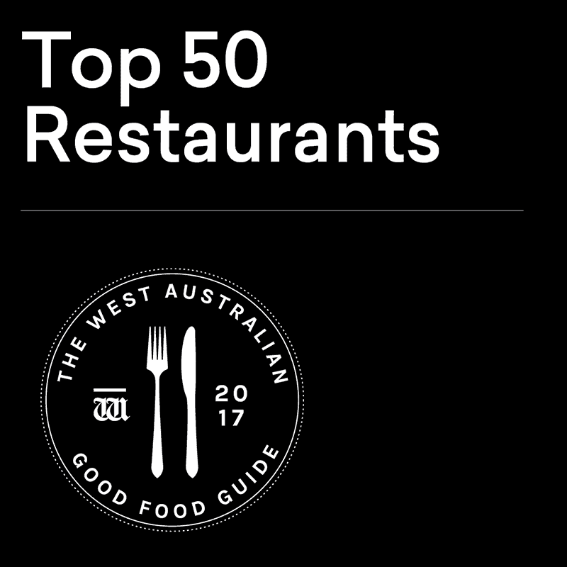 2017 Top 50 Restaurants - Good Food Guide