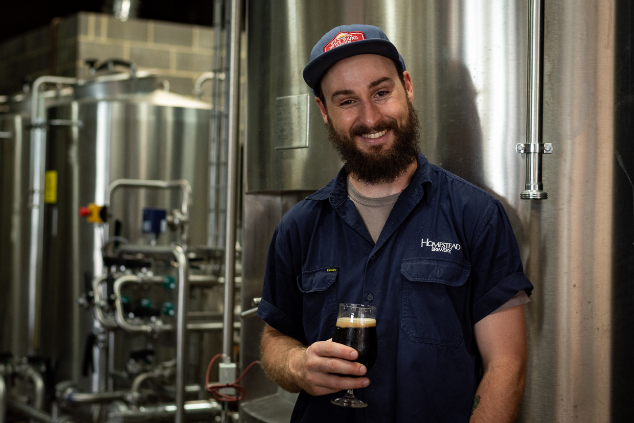 Liam France - Homestead Head Brewer