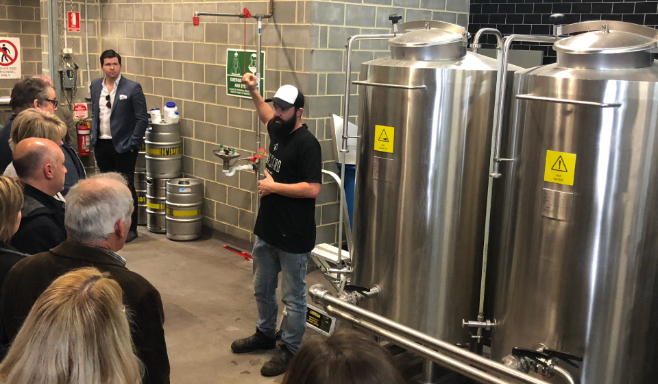 Justin Bishop - Homestead Head Brewer
